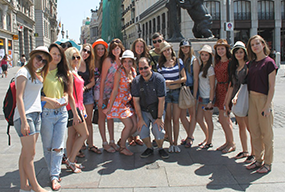 Salamanca spanish students tour guide